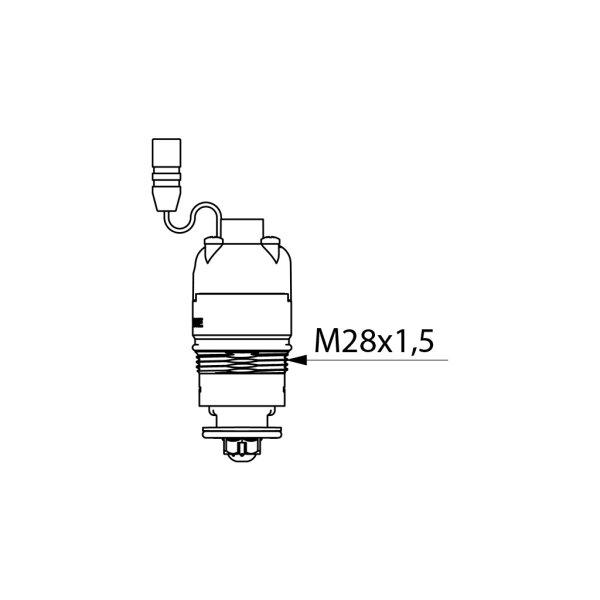 Magnetventil 6V f. TEMPOMATIC 4, Durchflussmenge einstellbar