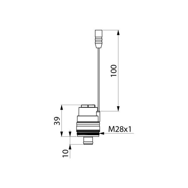 Magnetventil M für TEMPOMATIC 3 Urinal