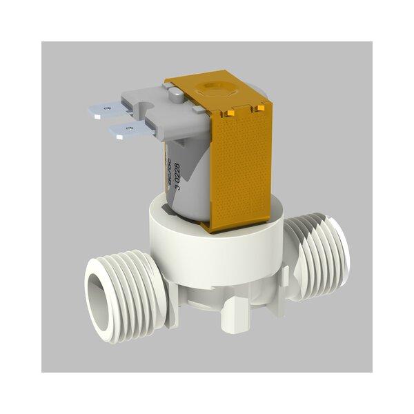 Magnetventil G1/2B 12V mit Sieb für TEMPOMATIC Waschtisch oder Urinal