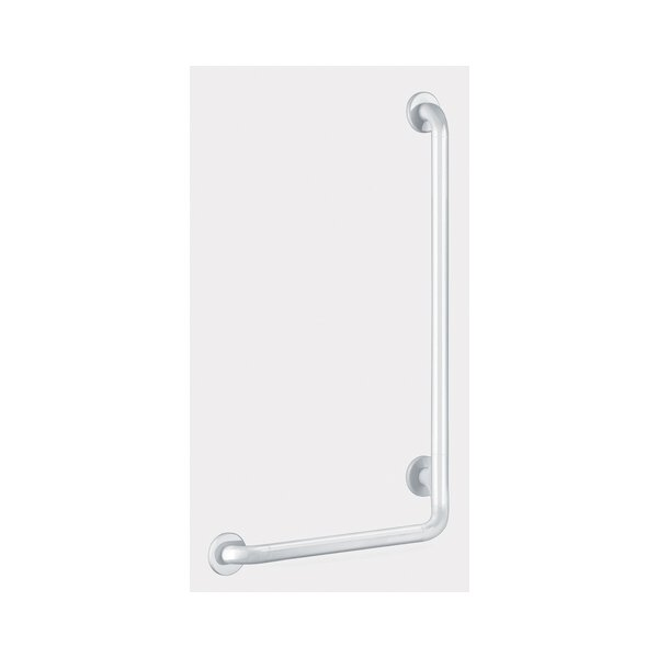 Handlauf L-Form D32 H750 mm Nylon weiß