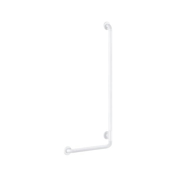 Handlauf L-Form D32 H1245mm Nylon weiß