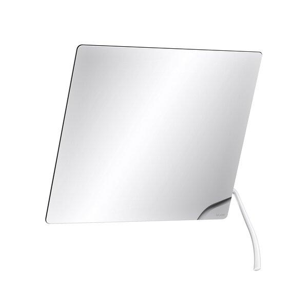 Kippspiegel m. Hebel 600x500 mm Nylon weiß