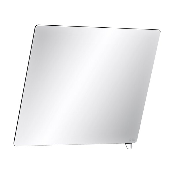 Kippspiegel 600x500 mm, Griff hochglanzpoliert
