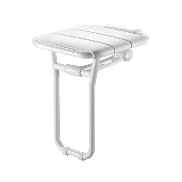 Duschsitz Aluminium hochklappbar mit Fuß