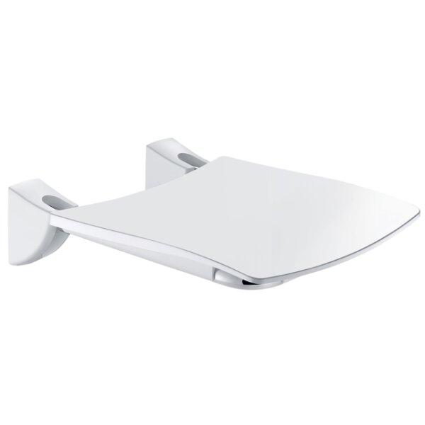 Duschsitz Komfort hochklappbar Edelstahl hochglanzpoliert