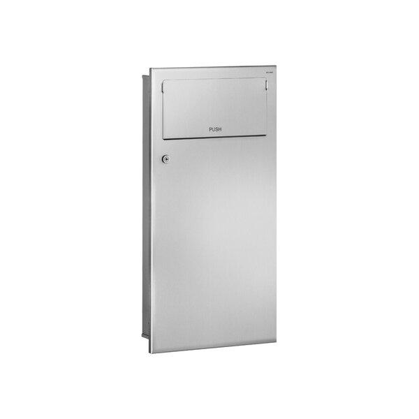 Abfallbehälter Unterputz PUSH 18l Edst. 1.4301 sat (ex-0013320000)