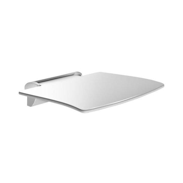 Dusch-Einhängesitz hochklappbar Be-Line ohne Fuß Alu weiß