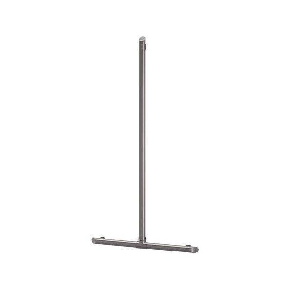 Handlauf T-Form Be-Line D35 H.1130x500 Aluminium anthrazit