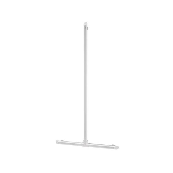 Handlauf T-Form Be-Line D35 H.1130x500 Aluminium weiß