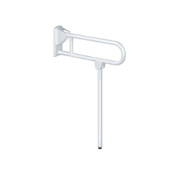 SK-Griff mit Fuß, D32 L850mm Nylon weiß