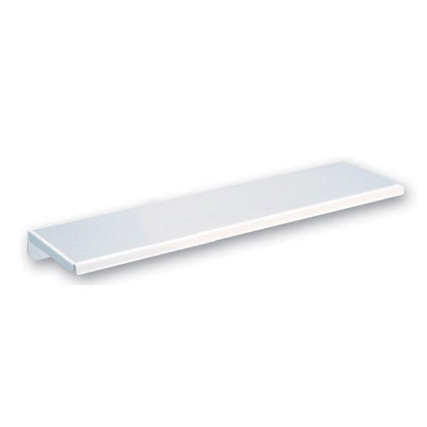 Ablage Wandmontage 120 x 450 mm Stahl weiß