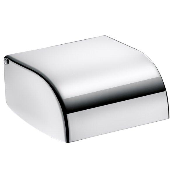 WC-Papierhalter Edelstahl 1.4301 hochglanzpoliert