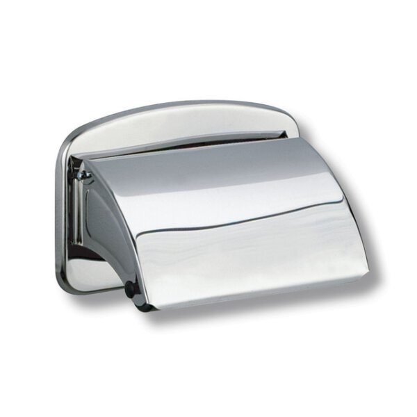 WC-Papierhalter HYPERECO Edelstahl hochglanzpoliert