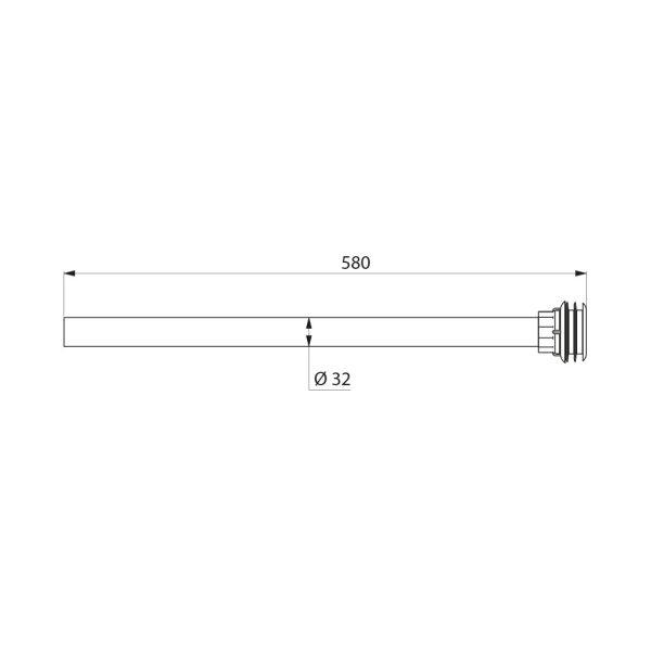 Anschluss-Set TEMPOFIX 3, B.580 für WC PMR