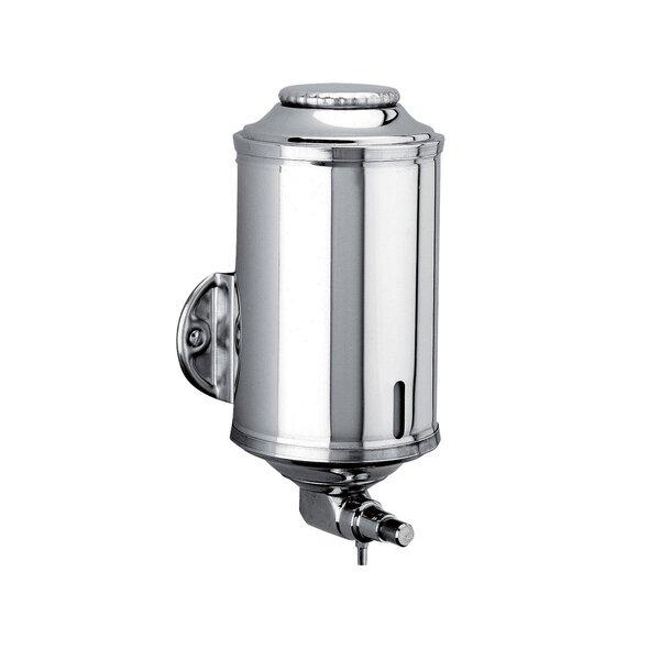 Flüssigseifenspender rund 0,5 l Edelstahl hochglanzpoliert (Ersetzt durch Art. 510583)