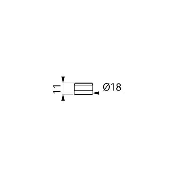 Strahlregler aus Hostaform® für TEMPOSTOP 2 / TEMPOMIX 2