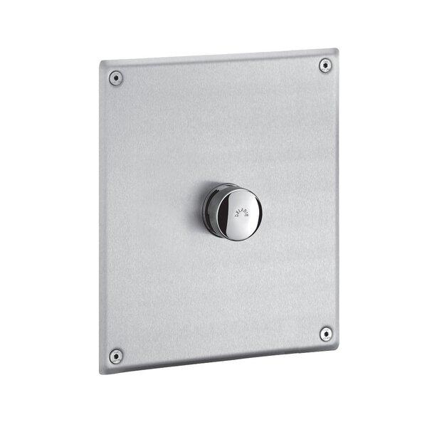 Druckspüler TEMPOFLUX WC G3/4B Unterputz/Platte Edelstahl 220x170 mm, 7 Sekunden