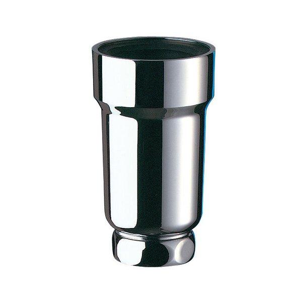 Siphon vertikal SIPHURINOIR ABS verchromt D50/32 H. 110 Lippendichtung