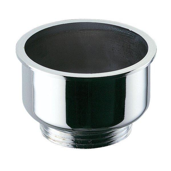 Urinalablauf G11/4B D54 mm zum Eingiessen, Messing verchromt