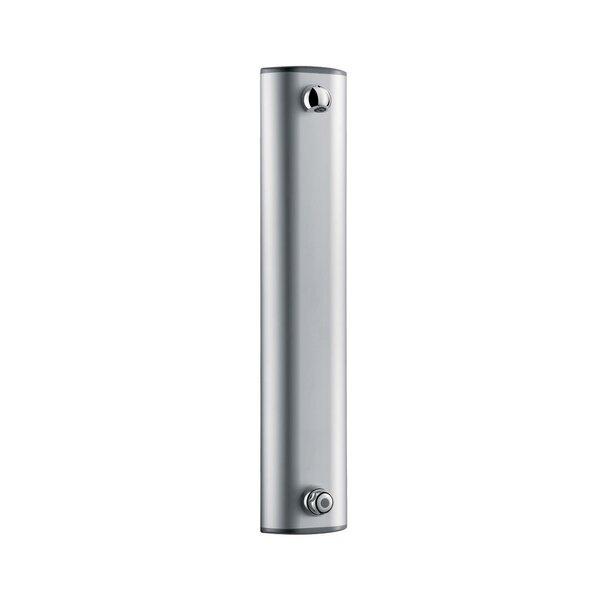 Duschelement TEMPOMIX Aluminium, Selbstschluss-Mischbatterie, Anschluss oben, 30 Sekunden