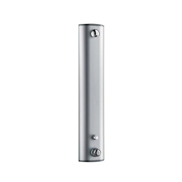 Duschelement SECURITHERM Thermostat, Aluminium, Anschluss verdeckt, Laufzeit 30 Sekunden