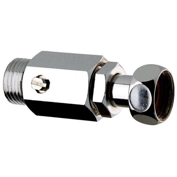Kugelhahn absperrbar Durchgangsform G1/2B x G1/2 L. 70 mm, mit abnehmbarer Mutter