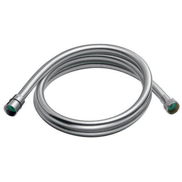 Brauseschlauch SILVER PVC verstärkt glatt 1.500mm