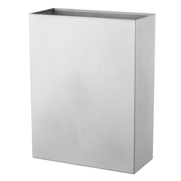 Basic Line Abfallbehälter offen 25 Liter Edelstahl