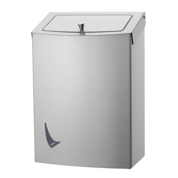 Wings Hygiene-Abfallbehälter 9 liter Edelstahl - Artikel 4052