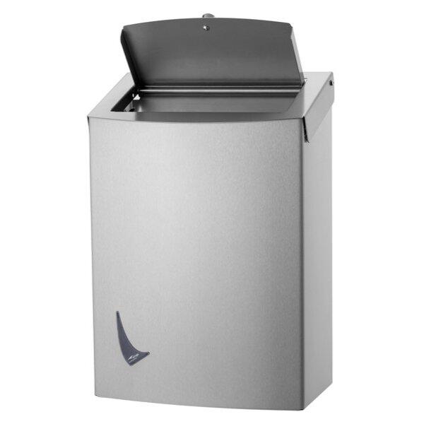 Wings Hygiene-Abfallbehälter 20 liter  Edelstahl - Artikel 4057