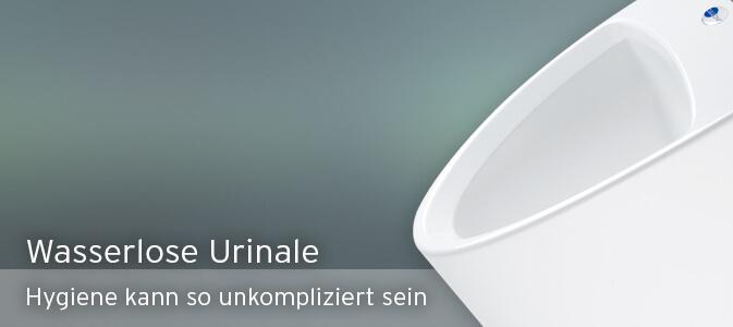 Wasserlose Urinale für die optimale Hygiene